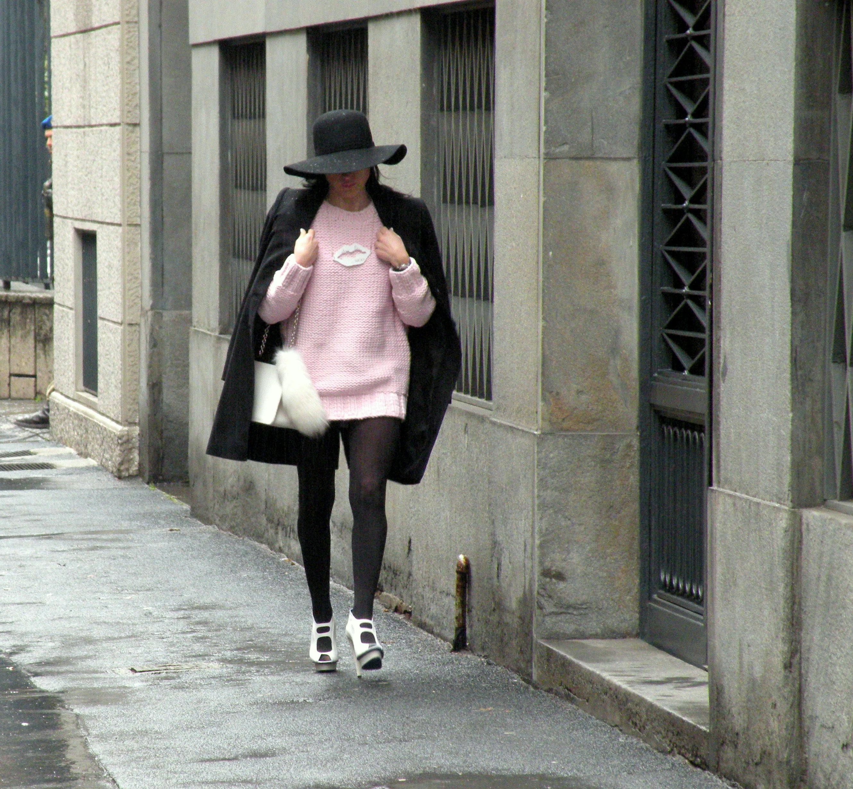 uno-10 -maglione rosa