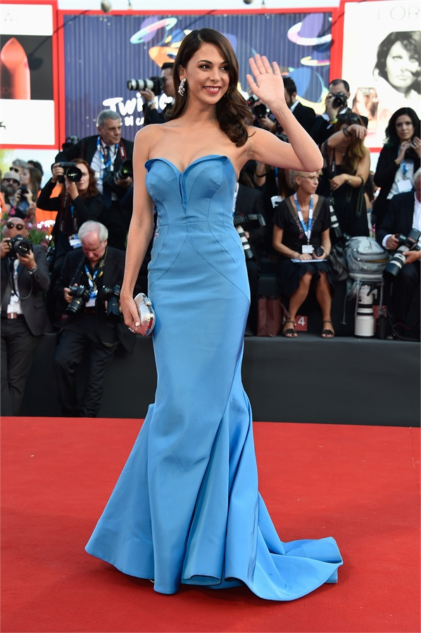 Moran Atias in Zac Posen