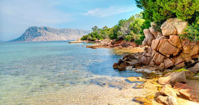 Beach Salinedda San Teodoro Sardinia Italy